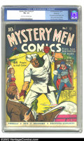 Golden Age (1938-1955):Superhero, Mystery Men Comics #1 Windy City pedigree (Fox, 1939) CGC FN+ 6.5 Light tan to off-white pages. Rex Dexter of Mars comes thr...