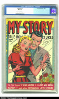 Golden Age (1938-1955):Romance, My Story #7 (Fox, 1949) CGC FN+ 6.5 Cream to off-white pages. Nice mid-grade copy of this Fox romance book pushes for a high...