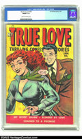Golden Age (1938-1955):Romance, My True Love #68 (Fox, 1950) CGC FN/VF 7.0 Cream to off-whitepages. So who was Fox trying to kid with these covers? It ain'...
