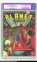 Golden Age (1938-1955):Science Fiction, Planet Comics #1 (Fiction House, 1940) CGC Apparent NM- 9.2Extensive (P) Off-white to white pages. One of the most innovati...