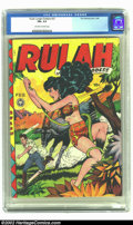 Golden Age (1938-1955):Miscellaneous, Rulah Jungle Goddess #23 (Fox Features Syndicate, 1949) CGC FN+ 6.5 Off-white to white pages. Any Fox comic book with a fema...
