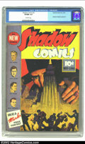 Golden Age (1938-1955):Crime, Shadow Comics #3 (Street & Smith, 1940) CGC VF/NM 9.0 Off-white pages. This is one of the most wonderful Shadow covers to ev...
