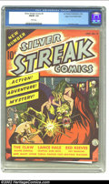 Golden Age (1938-1955):Superhero, Silver Streak Comics #2 Mile High pedigree (Lev Gleason, 1940) CGC FN/VF 7.0 White pages. Featuring a great Claw cover by Jo...