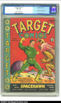 Golden Age (1938-1955):Superhero, Target Comics #7 (Novelty Press, 1940) CGC VF- 7.5 Cream to off-white pages. We are lucky to be able to offer this very desi...