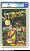 Golden Age (1938-1955):Horror, The Thing! #6 (Charlton, 1953) CGC NM 9.4 Cream to off-white pages.This beauty is unusual not only for its Near Mint grade,...