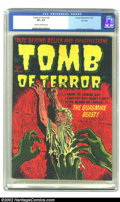 Golden Age (1938-1955):Horror, Tomb of Terror #2 File Copy (Harvey, 1952) CGC VF+ 8.5 Cream tooff-white pages. Harvey's file copies assured we latter day ...