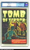 Golden Age (1938-1955):Horror, Tomb of Terror #6 File Copy (Harvey, 1952) CGC NM- 9.2 Cream tooff-white pages. Here's another Harvey File Copy demanding y...