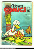 Golden Age (1938-1955):Funny Animal, Walt Disney's Comics and Stories Group Lot Of Over 100 Golden AgeIssues (Dell, 1940s). This is a tremendous lot for the Dis...(Total: 105 Comic Books Item)