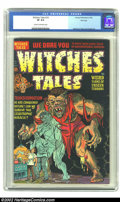 Golden Age (1938-1955):Horror, Witches Tales #14 File Copy (Harvey, 1952) CGC VF 8.0 Cream tooff-white pages. This copy from Harvey's files is the only on...