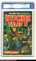 Golden Age (1938-1955):Horror, Witches Tales #22 File Copy (Harvey, 1953) CGC NM- 9.2 Cream tooff-white pages. One of the nicest of the Harvey File copies...