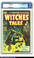 Golden Age (1938-1955):Horror, Witches Tales #26 File Copy (Harvey, 1954) CGC VF/NM 9.0 Cream tooff-white pages. Pretty, bright, and glossy describes this...