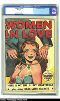 Golden Age (1938-1955):Romance, Women in Love #1 (Fox Features Syndicate, 1949) CGC FN- 5.5 Creamto off-white pages. Now the first question that comes to m...