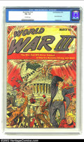 Golden Age (1938-1955):Science Fiction, World War III #1 (Ace, 1953) CGC FN+ 6.5 Off-white pages. This isthe ultimate atom bomb cover which depicts the U. S. Capit...