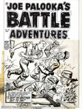 Original Comic Art:Covers, Al Avison - Original Cover Art for Joe Palooka's Battle Adventures#68 (Harvey, 1953). Here's one to get you chomping at the...
