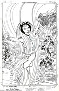 Original Comic Art:Complete Story, John Byrne and Tom Palmer - Original Art for X-Men: The HiddenYears #6, Cover and Complete 22-page Story (Marvel, 2000). No...