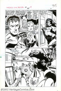 """Original Comic Art:Panel Pages, John Byrne and Joe Sinnott - Original Art for Fantastic Four Annual# 19, page 31, """"Summons From the Stars"""". (Marvel, 1985)...."""