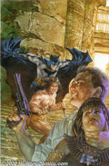 Original Comic Art:Covers, Dave Dorman - Original Cover Painting for Batman/Tarzan: Claws ofthe Cat-Woman #1 (Darkhorse/DC, 1999). Artist extraordinai...