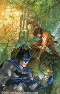 Original Comic Art:Covers, Dave Dorman - Original Cover Painting for Batman/Tarzan: Claws ofthe Cat-Woman #3 (Darkhorse/DC, 1999). The third cover pai...
