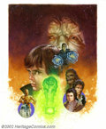 Original Comic Art:Covers, Dave Dorman - Original Cover Art for Star Wars: Dark EmpireHandbook (Dark Horse, 2000). Eisner award-winning illustrator Da...