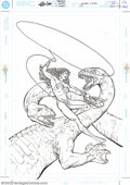 Original Comic Art:Covers, Phil Jimenez - Original Cover Art for Wonder Woman #179 (DC, 2002).Here's a treat for fans of the sexy Amazonian... the ori...