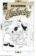 Original Comic Art:Covers, Frank Johnson - Original Cover Art for Underdog #8 (Charlton,1971). Bar Sinister takes control of Underdog on this humorous...