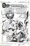 Original Comic Art:Covers, Gil Kane - Original Cover Art for Green Lantern #170 (DC, 1983). Ifit's 100 percent Gil Kane you're looking for, this maste...