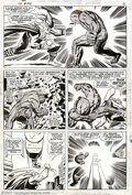 Original Comic Art:Panel Pages, Jack Kirby and Vince Colletta - Original Art for Thor #152, page 2(Marvel, 1968). This stunning page of Thor vs. The Destro...