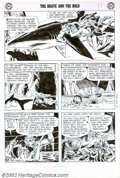 Original Comic Art:Panel Pages, Joe Kubert - Original Art for Brave and the Bold #11, page 9, (DC,1957). The Brave and the Bold started in August 1955 as a...