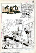 Original Comic Art:Splash Pages, Sheldon Moldoff and Charles Paris - Original Splash Page Art forBatman #144, page 1 (DC, 1961). Watch Out! Bat-Girl's back....