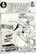 "Original Comic Art:Covers, Curt Swan and Murphy Anderson - Original Cover Art for Superboy#181 (DC, 1972). A wonderful cover image from the ""super"" te..."