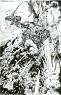 """Original Comic Art:Covers, Barry Windsor-Smith and Trevor Scott - Original Cover Art forDeathblow #16 (Wildstorm, 1996). From the 1996 """"Wildstorm Risi..."""