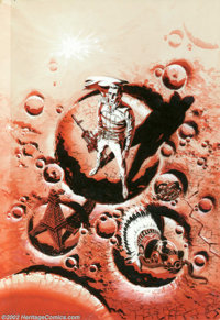 Wally Wood - Original Cover Art for Colonial Survey (Gnome Press, 1957). The legendary Wally Wood offers a cover for the...