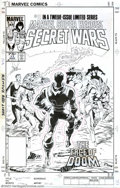"""Original Comic Art:Complete Story, Mike Zeck and John Beatty - Original Art for Marvel Super Heroes Secret Wars #11 Cover and Complete Story, """"And Dust to Dust"""" (..."""