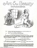 Original Comic Art:Splash Pages, Robert Crumb - Original Illustration for Art and Beauty Magazine(Kitchen Sink Press, 1996). The sexy title page to Crumbs 1...