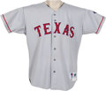 Baseball Collectibles:Uniforms, 1996 Ivan Rodriguez Game Worn Jersey. He's one of the greatest all-around catchers in the game's history, all but a lock fo...