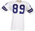 Football Collectibles:Uniforms, Early 1970's Mike Ditka Game Worn Jersey. Though the Hall of Fame tight end is most commonly associated with the Chicago Be...
