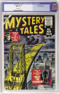 Golden Age (1938-1955):Horror, Mystery Tales #32 White Mountain pedigree (Atlas, 1955) CGC NM- 9.2Off-white pages....