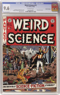 Golden Age (1938-1955):Science Fiction, Weird Science #13 Gaines File pedigree (EC, 1952) CGC NM+ 9.6Off-white pages....
