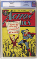 Golden Age (1938-1955):Superhero, Action Comics #80 (DC, 1945) CGC FN/VF 7.0 Off-white to white pages....