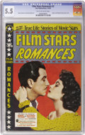 Golden Age (1938-1955):Romance, Film Stars Romances #2 (Star Publications, 1950) CGC FN- 5.5 Tan tooff-white pages....