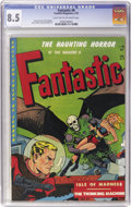Golden Age (1938-1955):Horror, Fantastic #8 (Youthful Magazines, 1952) CGC VF+ 8.5 Light tan tooff-white pages....