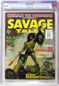 Magazines:Superhero, Savage Tales #1 (Marvel, 1971) CGC NM+ 9.6 Off-white to whitepages. While much has been written about the near-simultaneous...
