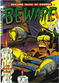 Beware #11 Mile High pedigree (Youthful Magazines, 1952) Condition: NM-. This is the first time we've offered this pre-C...