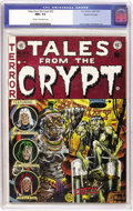 Golden Age (1938-1955):Horror, Tales From the Crypt #33 Gaines File pedigree 2/12 (EC, 1952) CGCNM+ 9.6 Cream to off-white pages....
