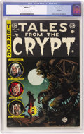 Golden Age (1938-1955):Horror, Tales From the Crypt #46 Gaines File pedigree (EC, 1955) CGC NM 9.4Off-white to white pages....