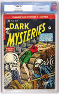 Golden Age (1938-1955):Horror, Dark Mysteries #19 (Master Publications, 1954) CGC VF/NM 9.0 Creamto off-white pages....