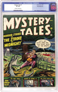 Golden Age (1938-1955):Horror, Mystery Tales #1 White Mountain pedigree (Atlas, 1952) CGC VF 8.0Off-white to white pages....