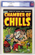 Golden Age (1938-1955):Horror, Chamber of Chills #23 (#3) File Copy (Harvey, 1951) CGC VF 8.0Cream to off-white pages....