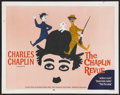 """Movie Posters:Comedy, The Chaplin Revue (United Artists, 1959). Half Sheet (22"""" X 28""""). Comedy. Starring Charles Chaplin, Edna Purviance, Mack Swa..."""