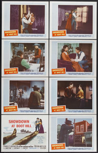 "Showdown at Boot Hill (20th Century-Fox, 1958). Lobby Card Set of 8 (11"" X 14""). Western. Starring Charles Bro..."